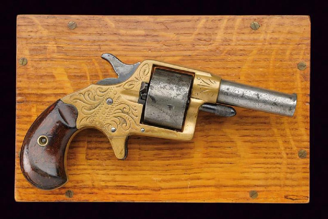 A cased Colt House revolver, dating: about 1870, - 2