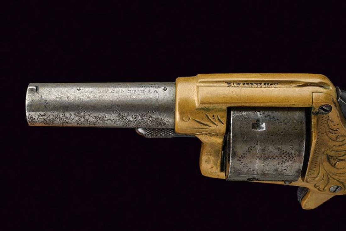 A cased Colt House revolver, dating: about 1870, - 4