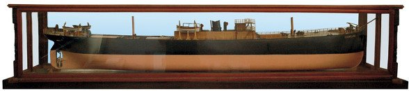 "1: A half-model of the ship ""Esemplare"""