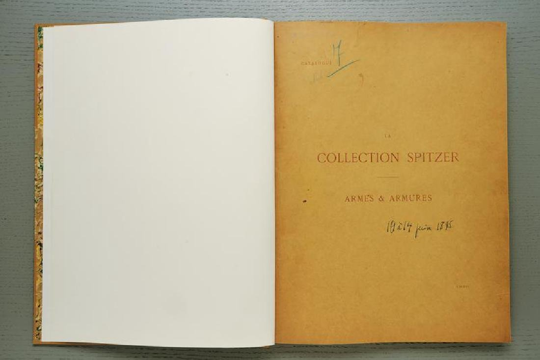 Catalogue of the arms and armor collection Spitzer
