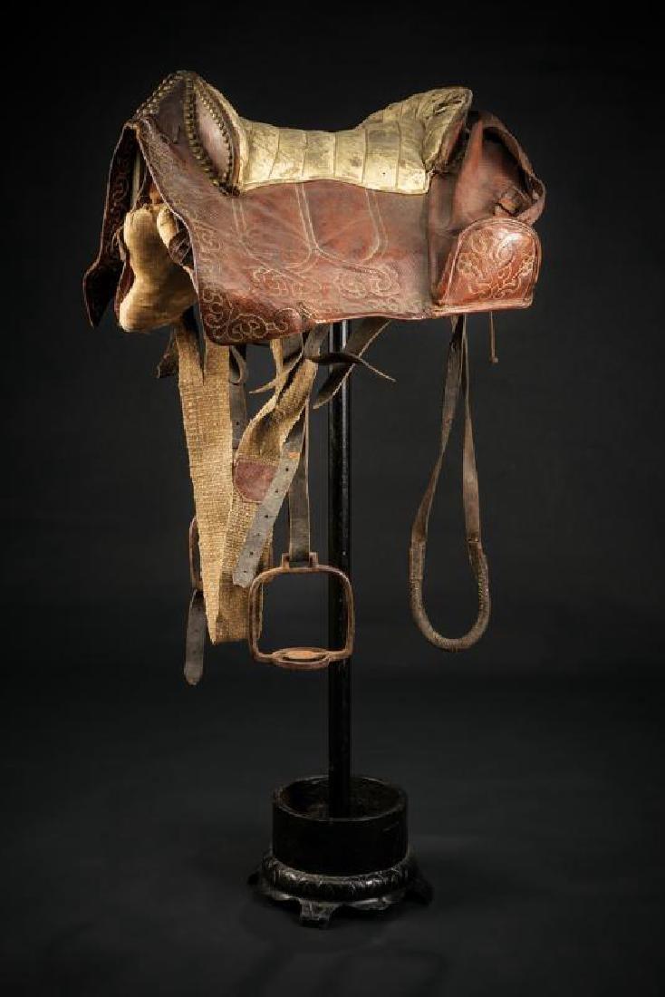 A rare saddle