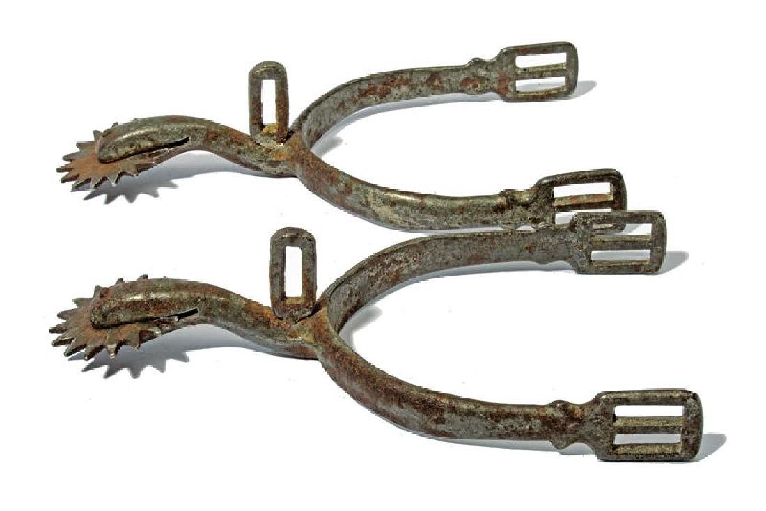 An unusual pair of spurs