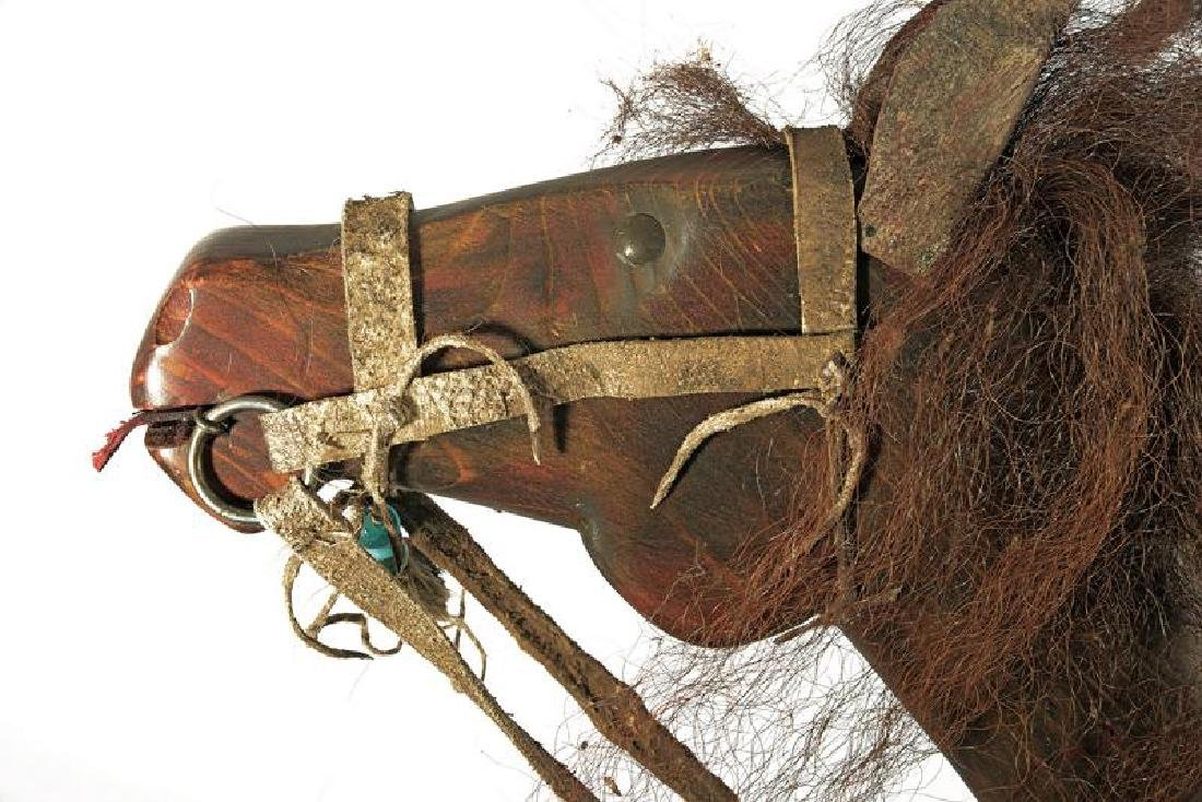 A rare Lakota Sioux Horse Dancing Stick - 2