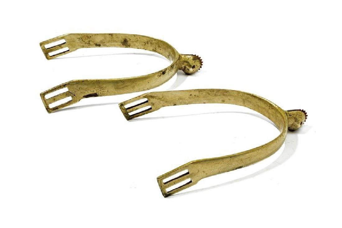 A pair of officer's spurs