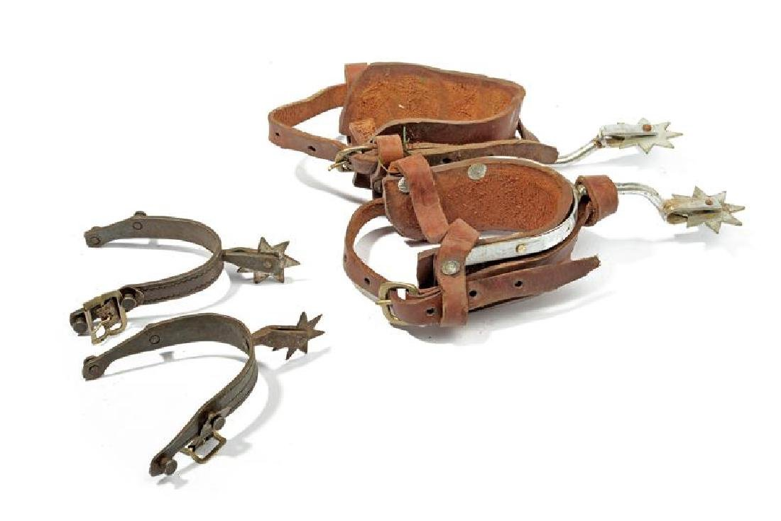 A lot of two pairs of spurs