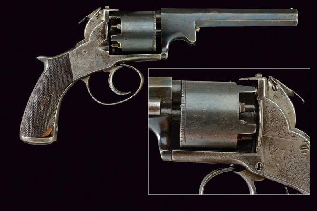 A percussion revolver