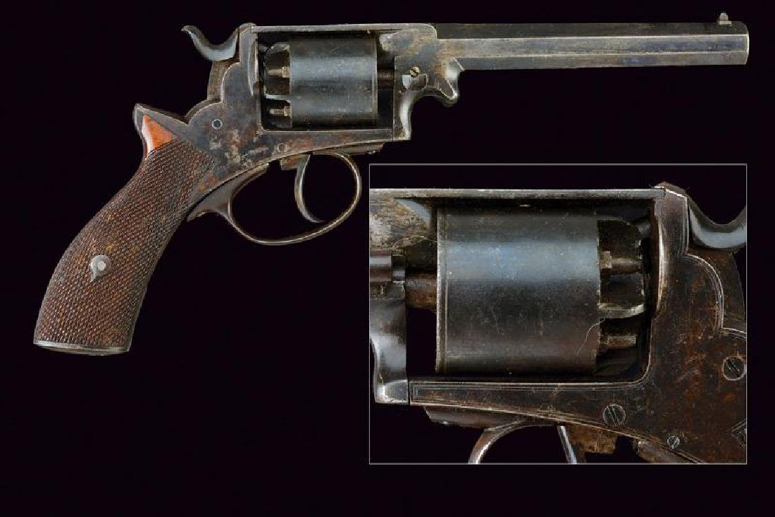 An Adams type percussion revolver