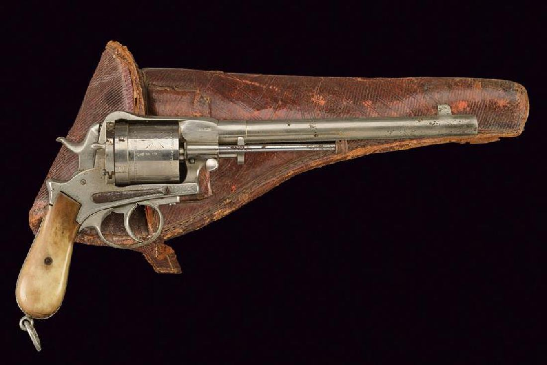 A centerifre Montenegrin Revolver with holster