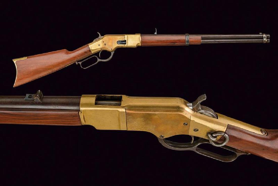 A 1866 model Winchester