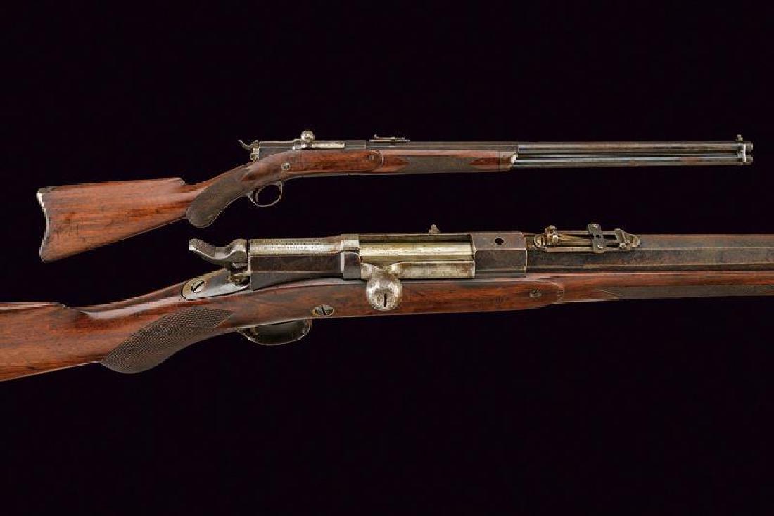 A rare Remington-Keene Magazine Bolt Action Rifle