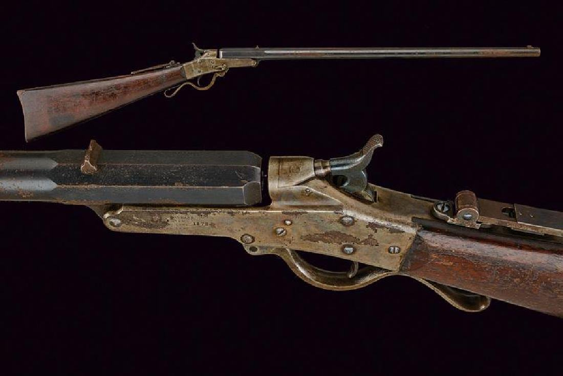 A Maynard Single Shot Rifle Model 1873