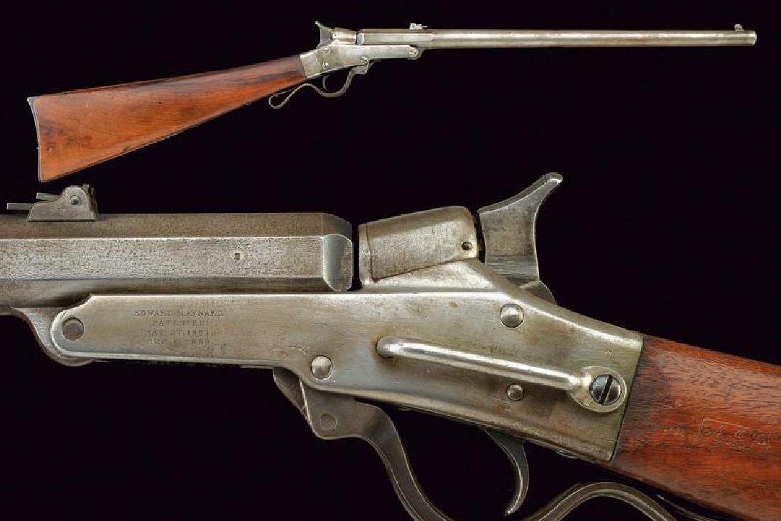 A second model Maynard rifle
