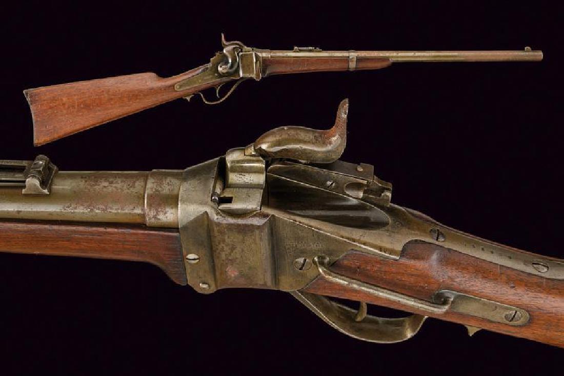 A Sharps New Model 1863 carbine