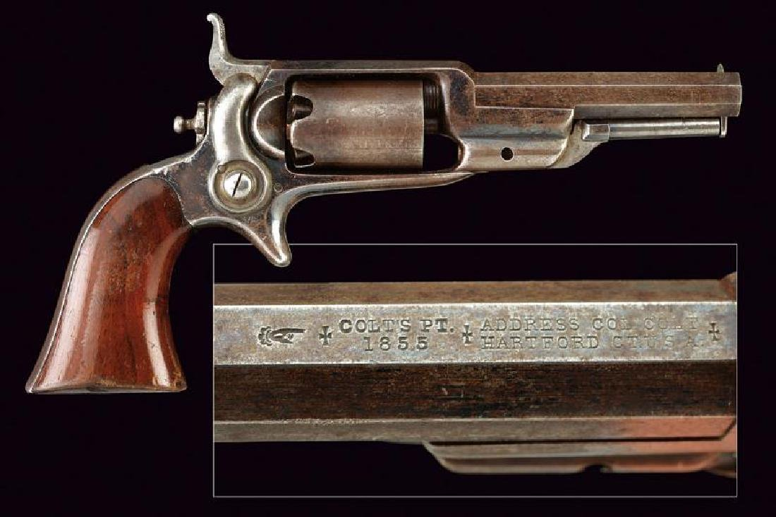 Colt Model 1855 Sidehammer Pocket Revolver