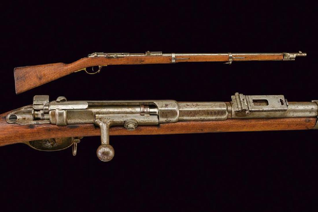 A 1781 model Mauser bolt-action rifle