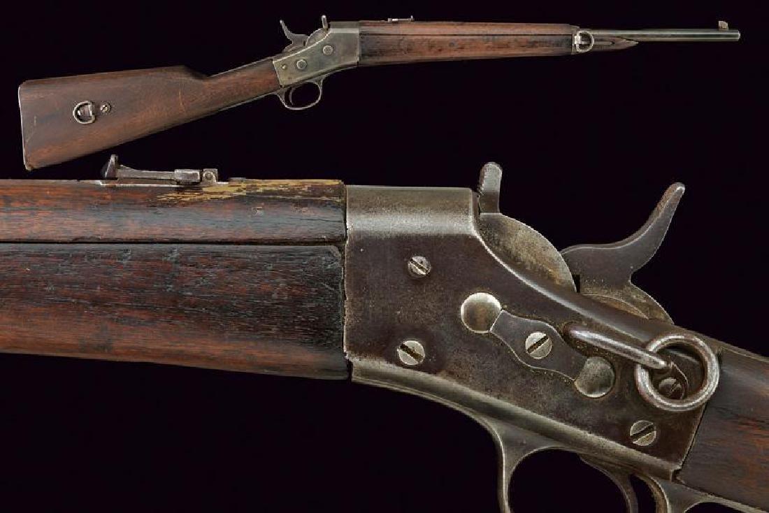 A cavalry Remington falling block rifle