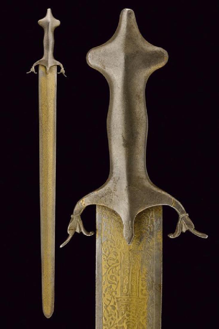 A Qajar sword