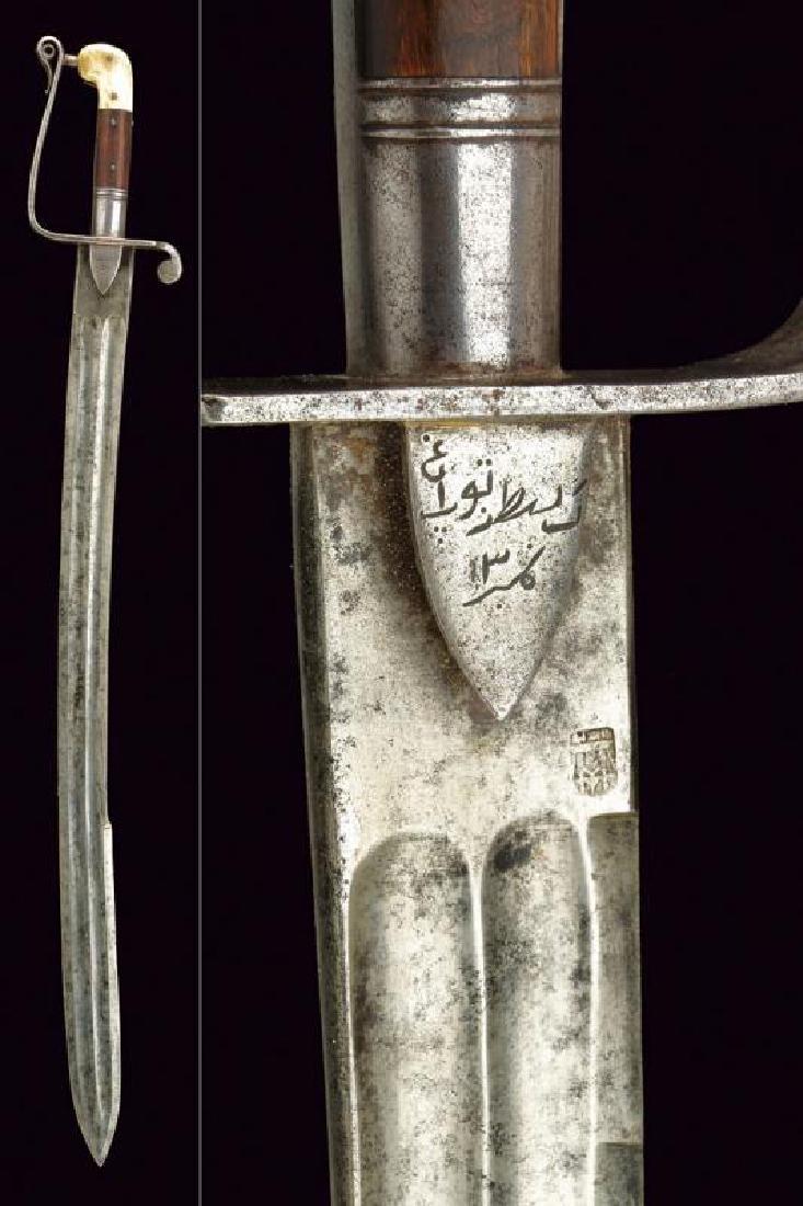A cavalry sabre