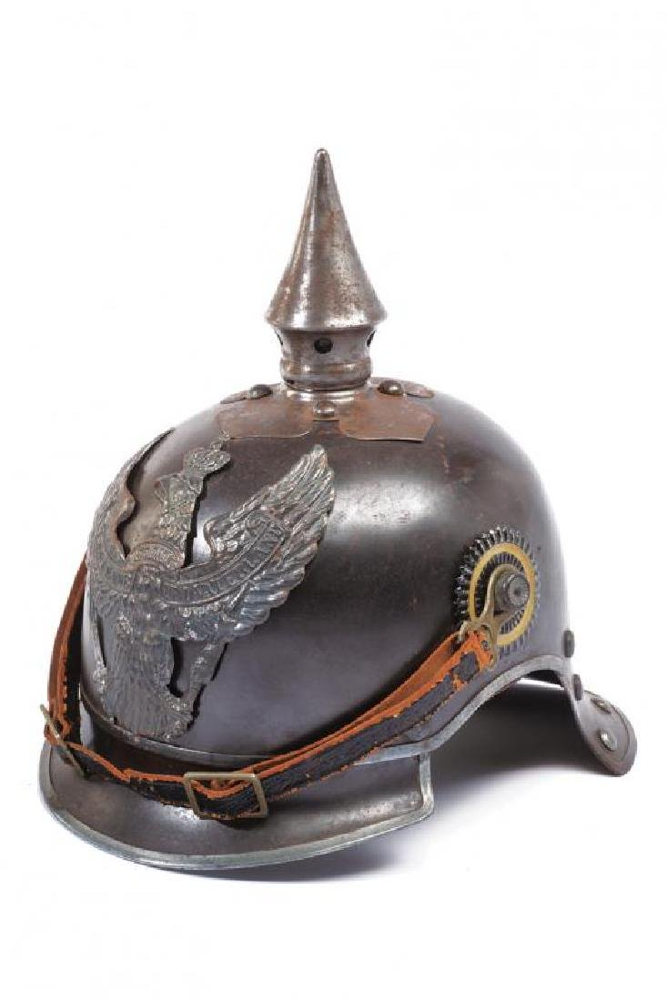 A scarce cavalry pickelhaube, World War I