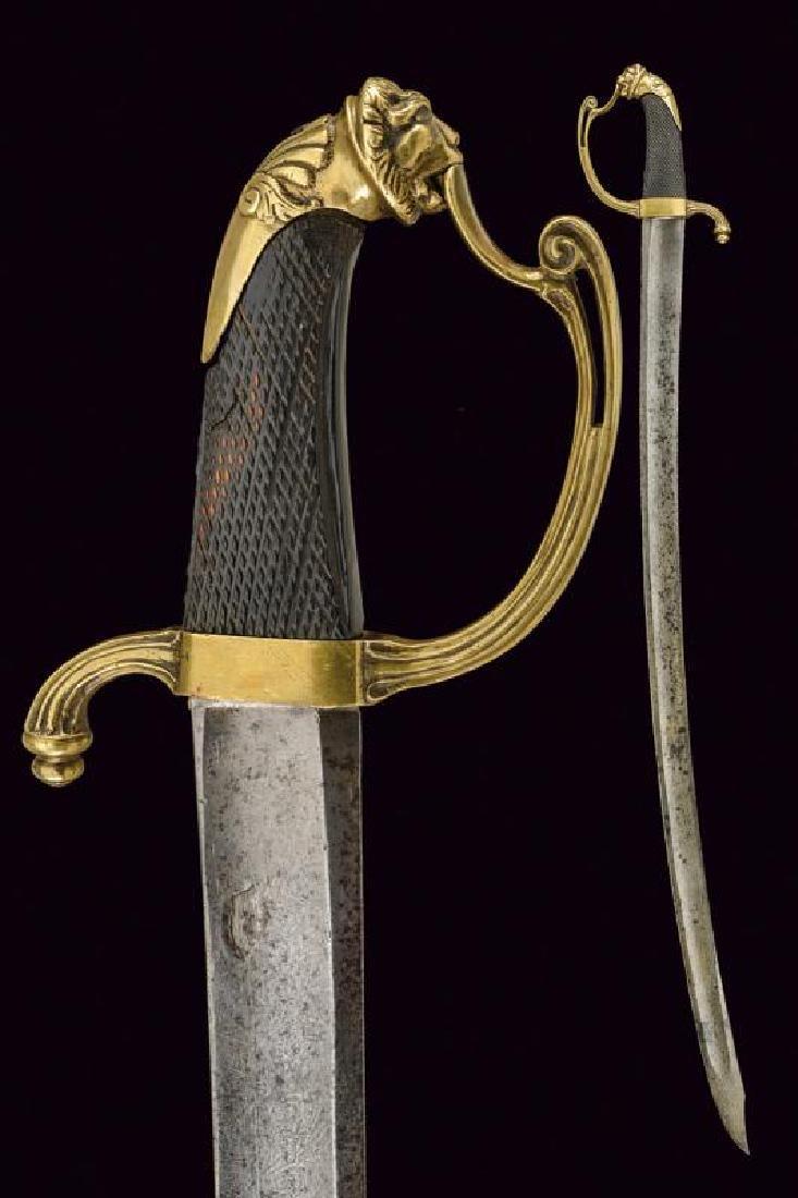A staff officer's sabre