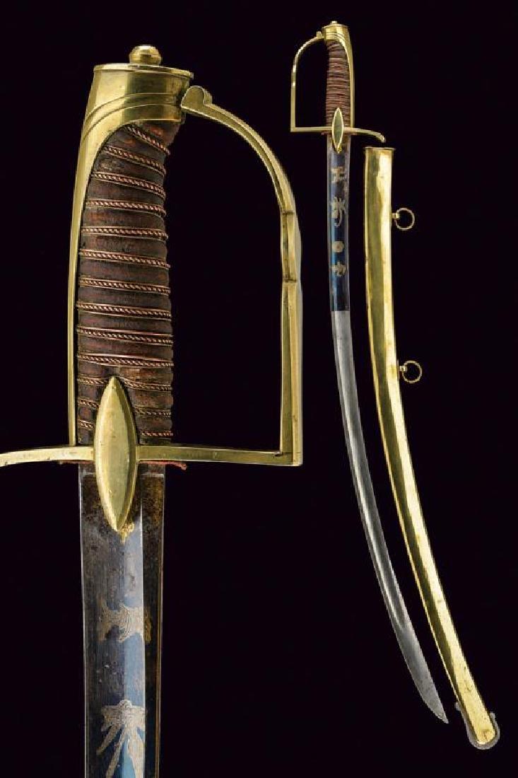 A light cavalry sabre