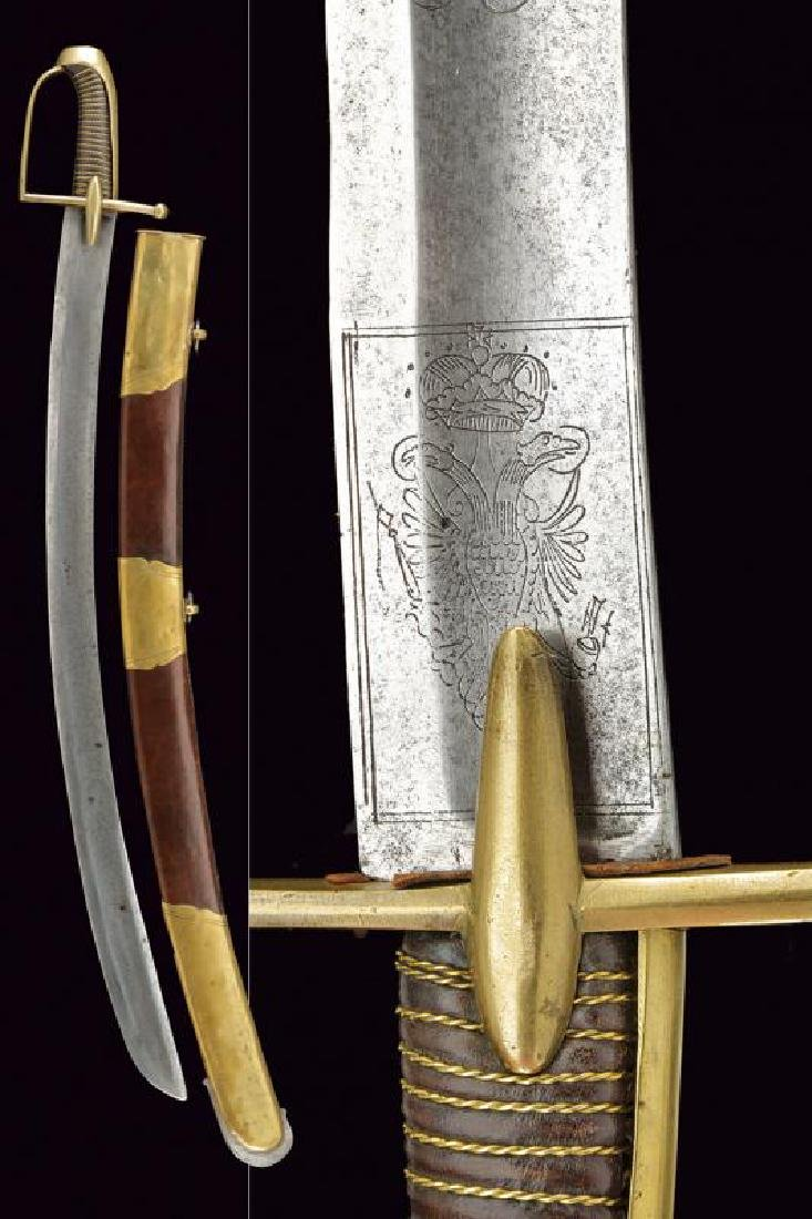 A revolutionary period hussar's officer fine sabre