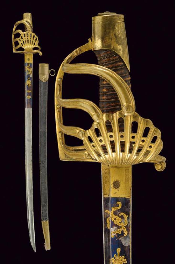 A 'Garde de Bataille' sabre