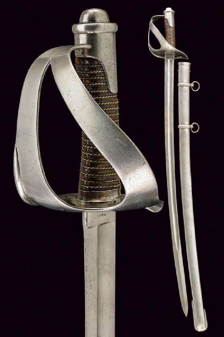 A 1860 model cavalry sabre