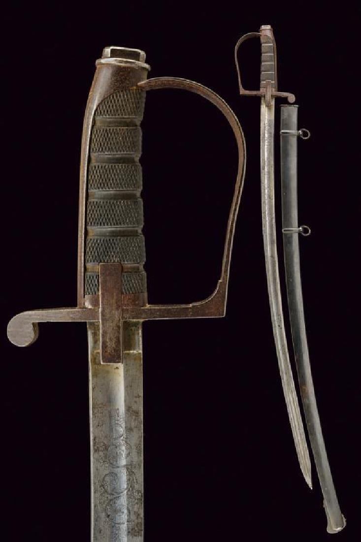 An 1855 model officer's sabre