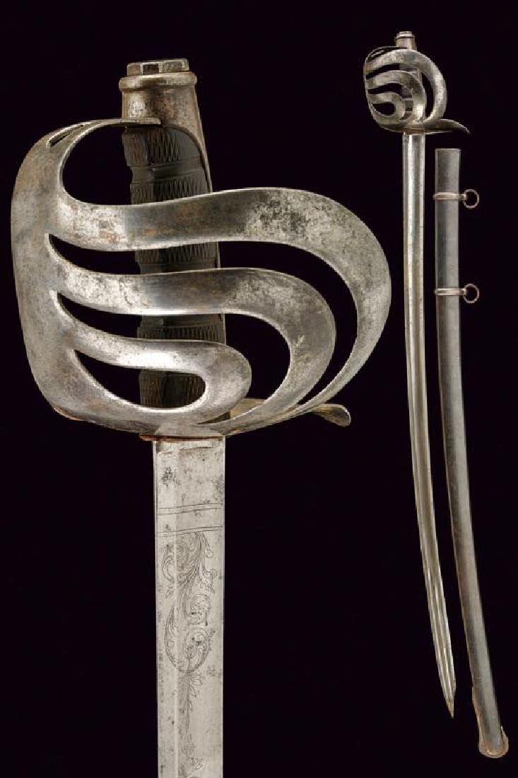 An 1864 model cavalry sabre