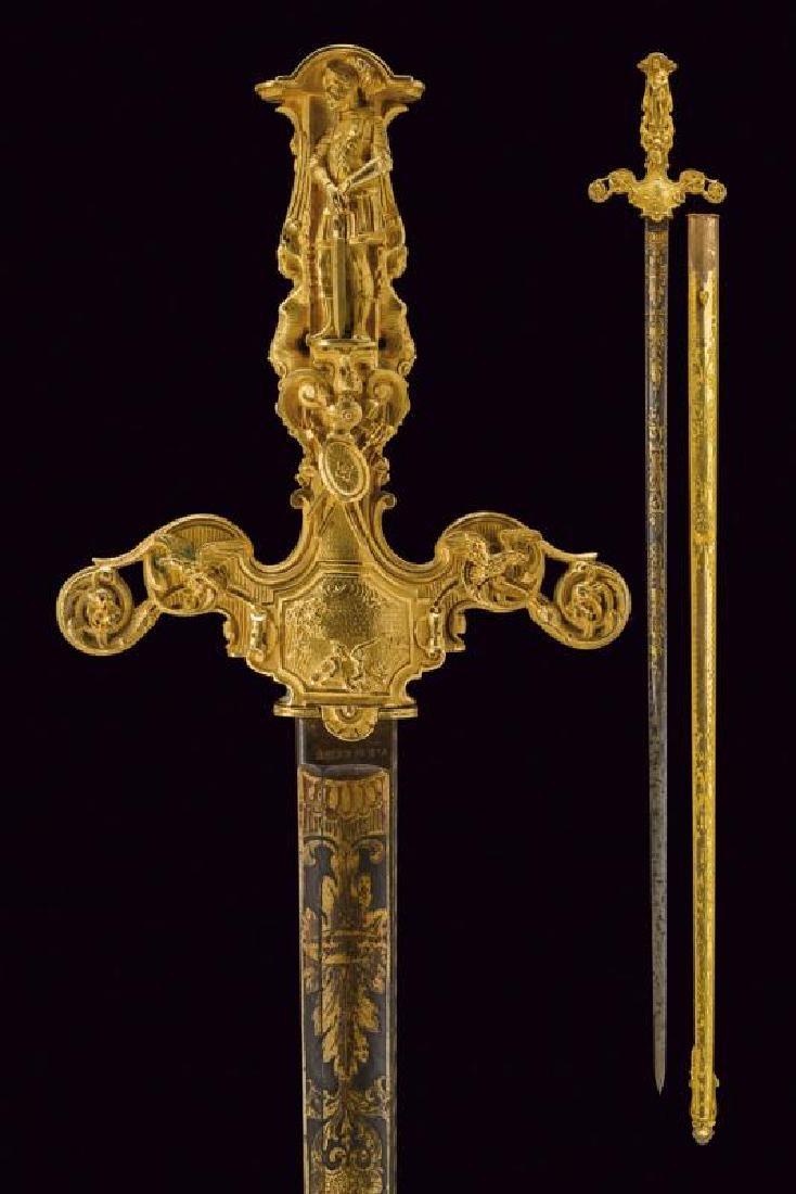 A beautiful sword