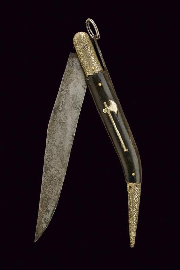 A Girodias folding knife