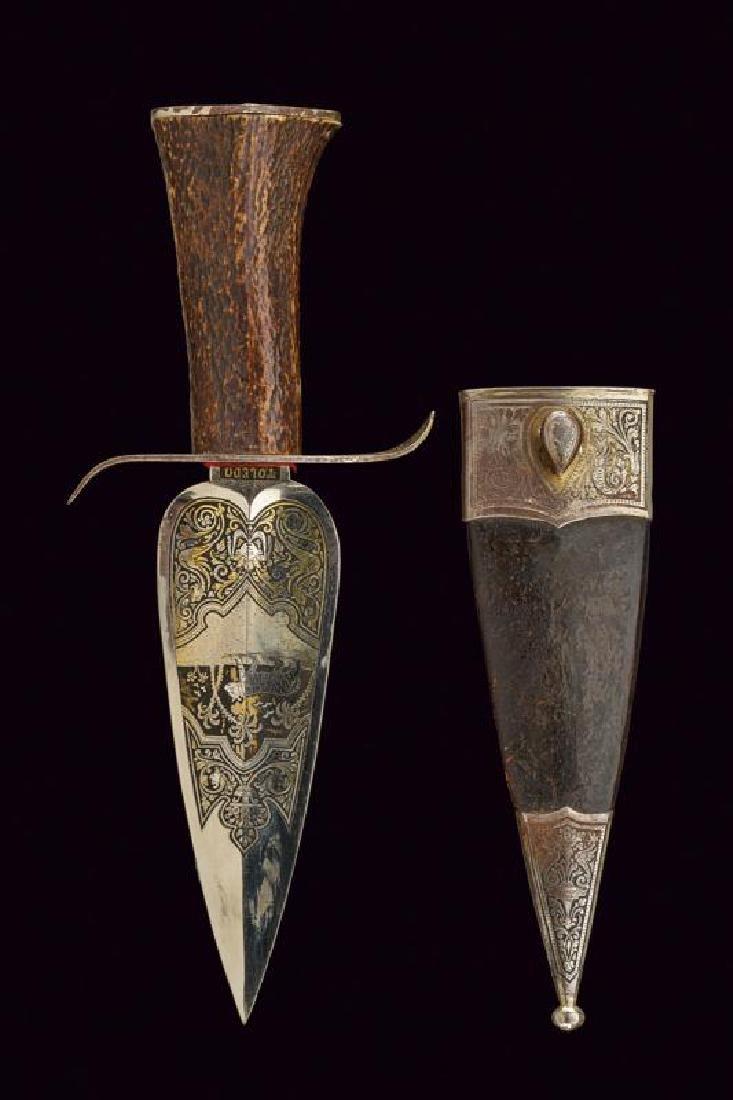 A hunting dagger