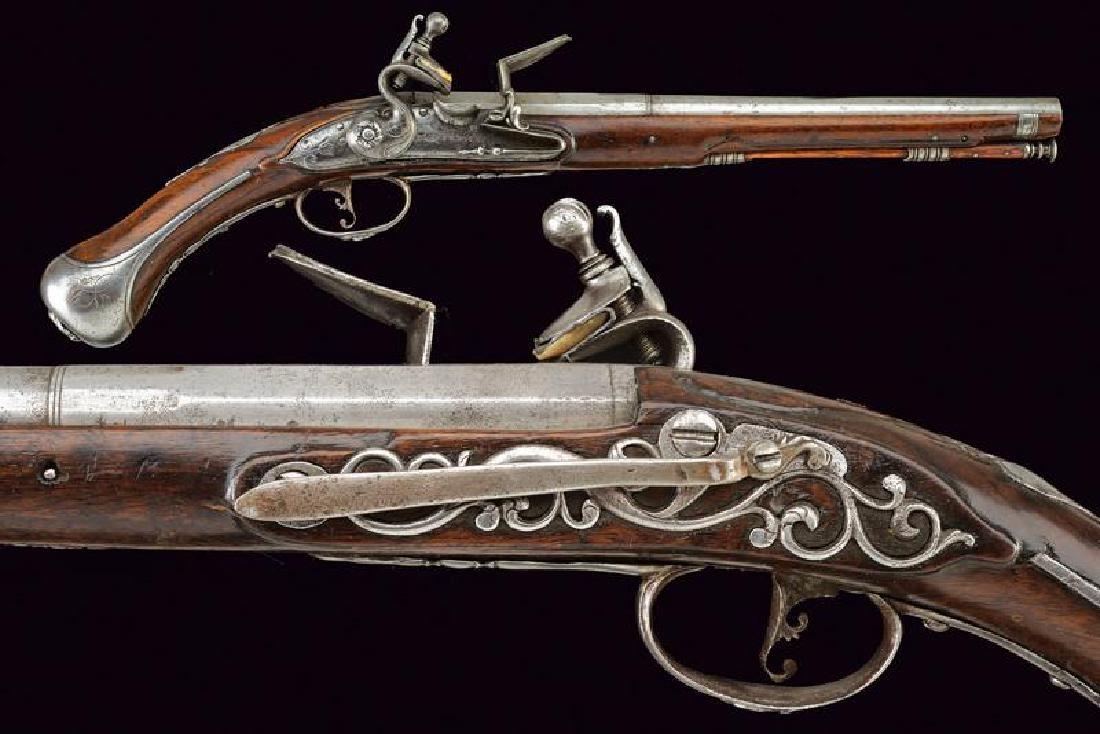 A flintlock pistol by Picin Frusca