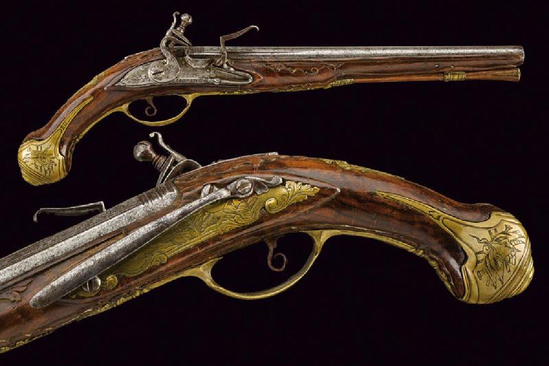 A flintlock pistol by Sermenghi