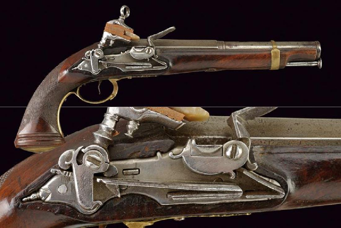 A fine miquelet flintlock officer's pistol