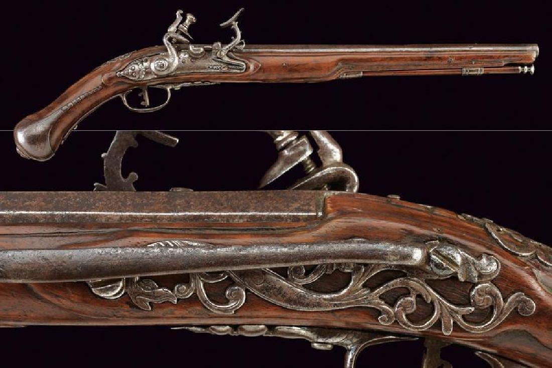 A snaphaunce flintlock holster pistol
