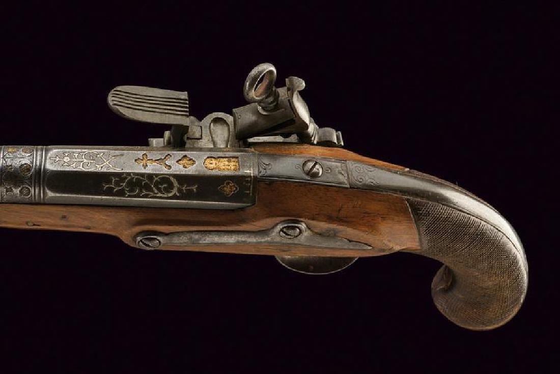 An officer's fine flintlock pistol - 2