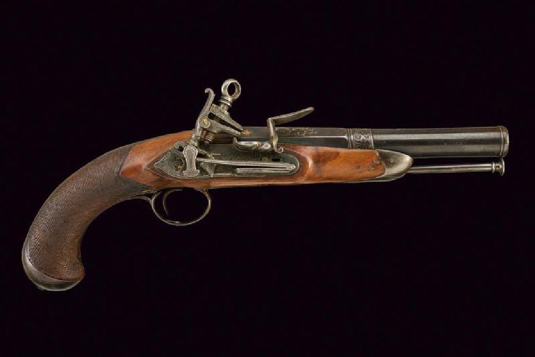 An officer's fine flintlock pistol - 3