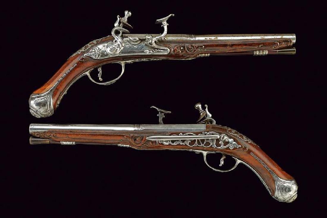 A fine pair of snaphaunce pistols