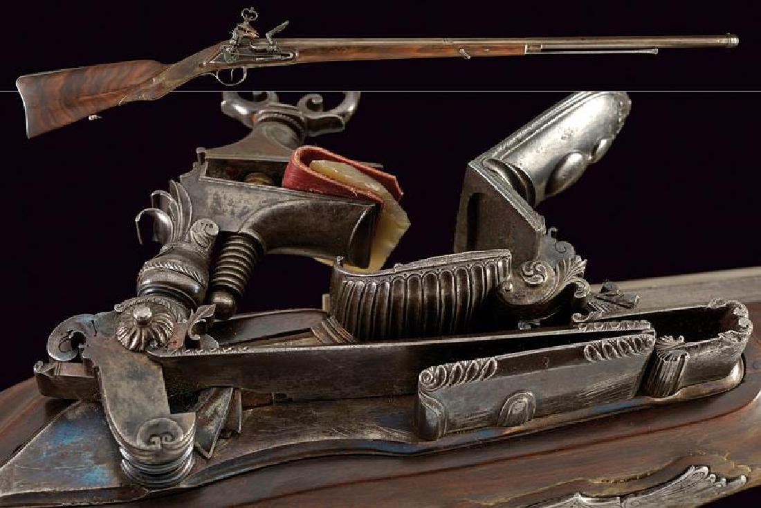 An interesting miquelet flintlock gun by Michele