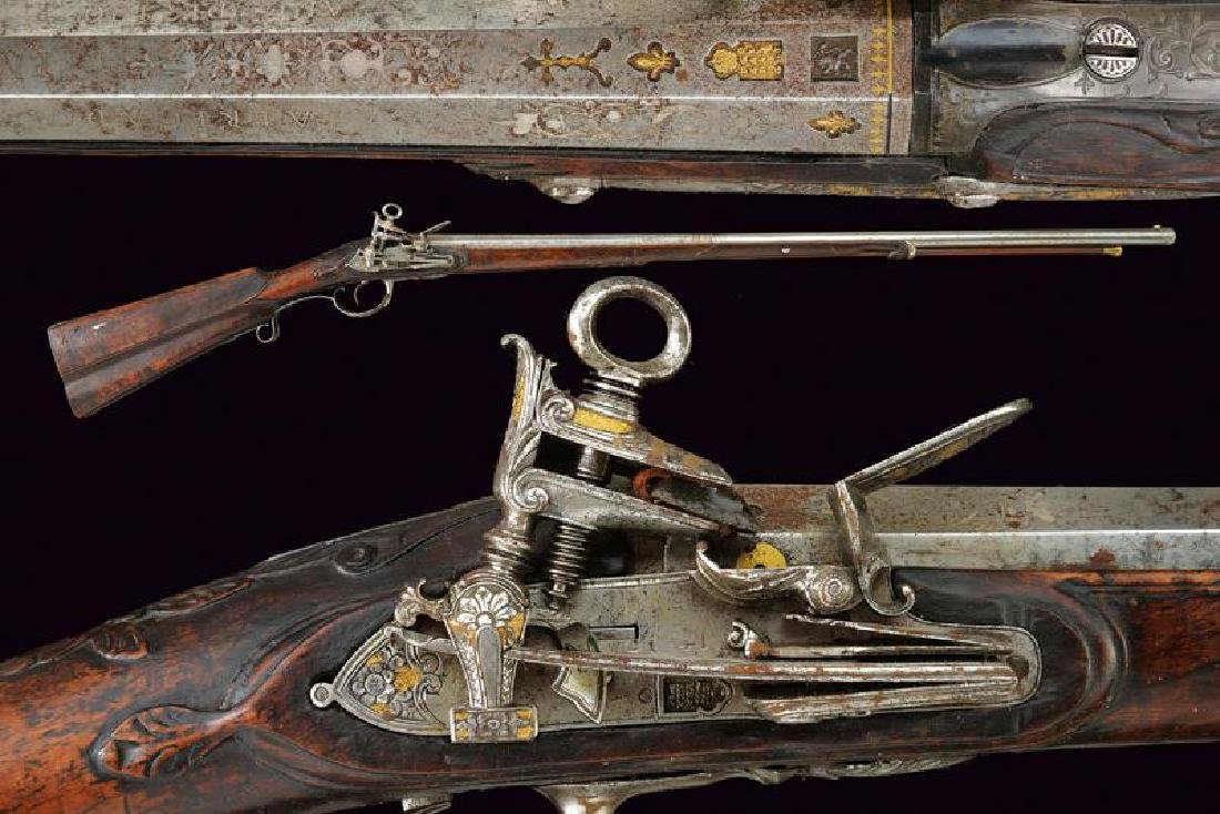 A fine miquelet flintlock gun by Ibarzabal