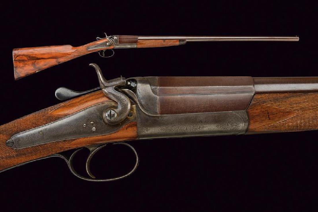 A single shot Cogswell & Harrison gun