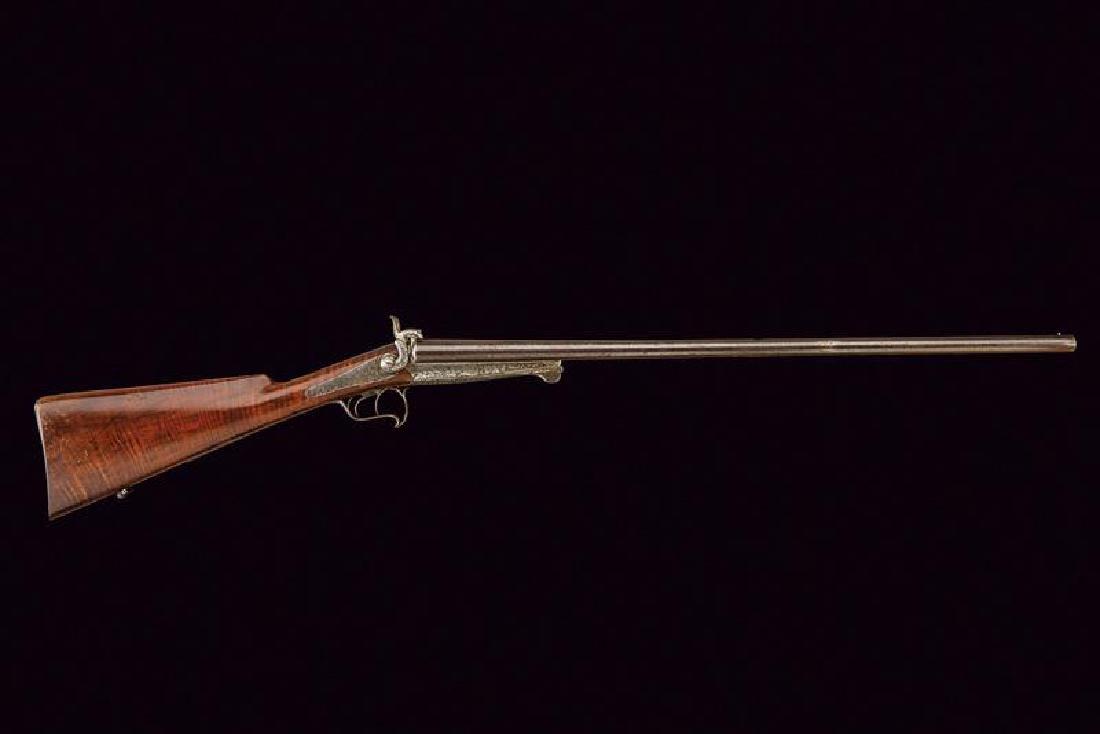 A double barreled pinfire shotgun - 3