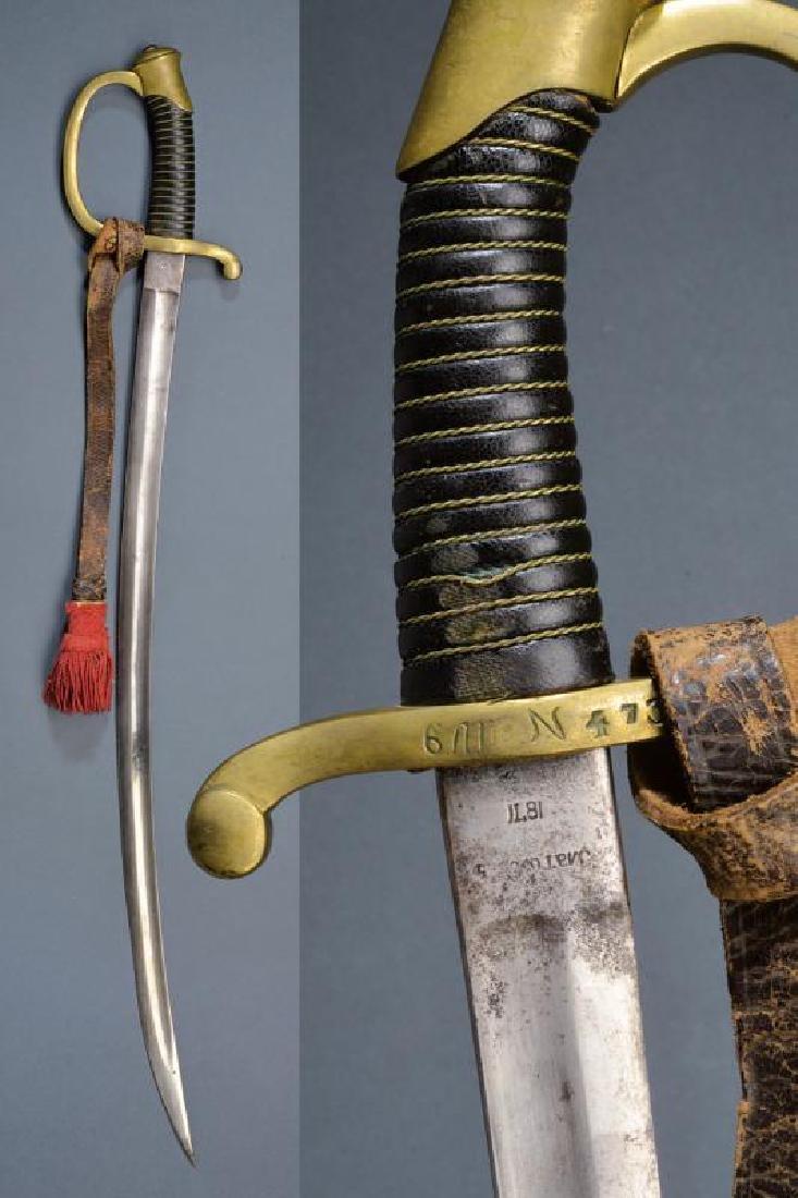 An 1868 artillery trooper's sabre