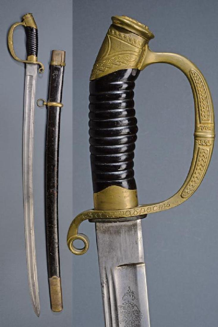 An 1881/09 model sabre for bravery