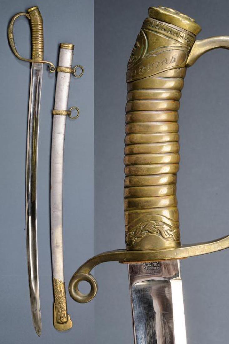 A very rare St. George 1881/09 model bravery sabre