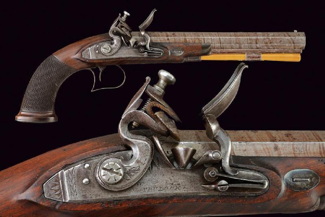 A flintlock pistol by Trulock