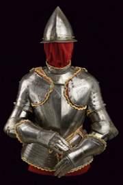 A Pisan style half armour
