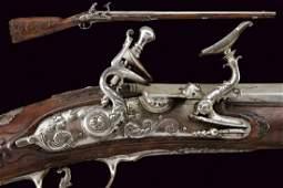 A beautiful snaphaunce gun by 'Il Negroni'
